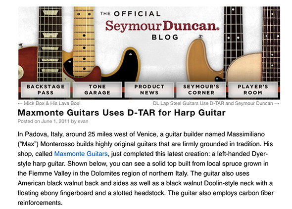 seymour duncan blog